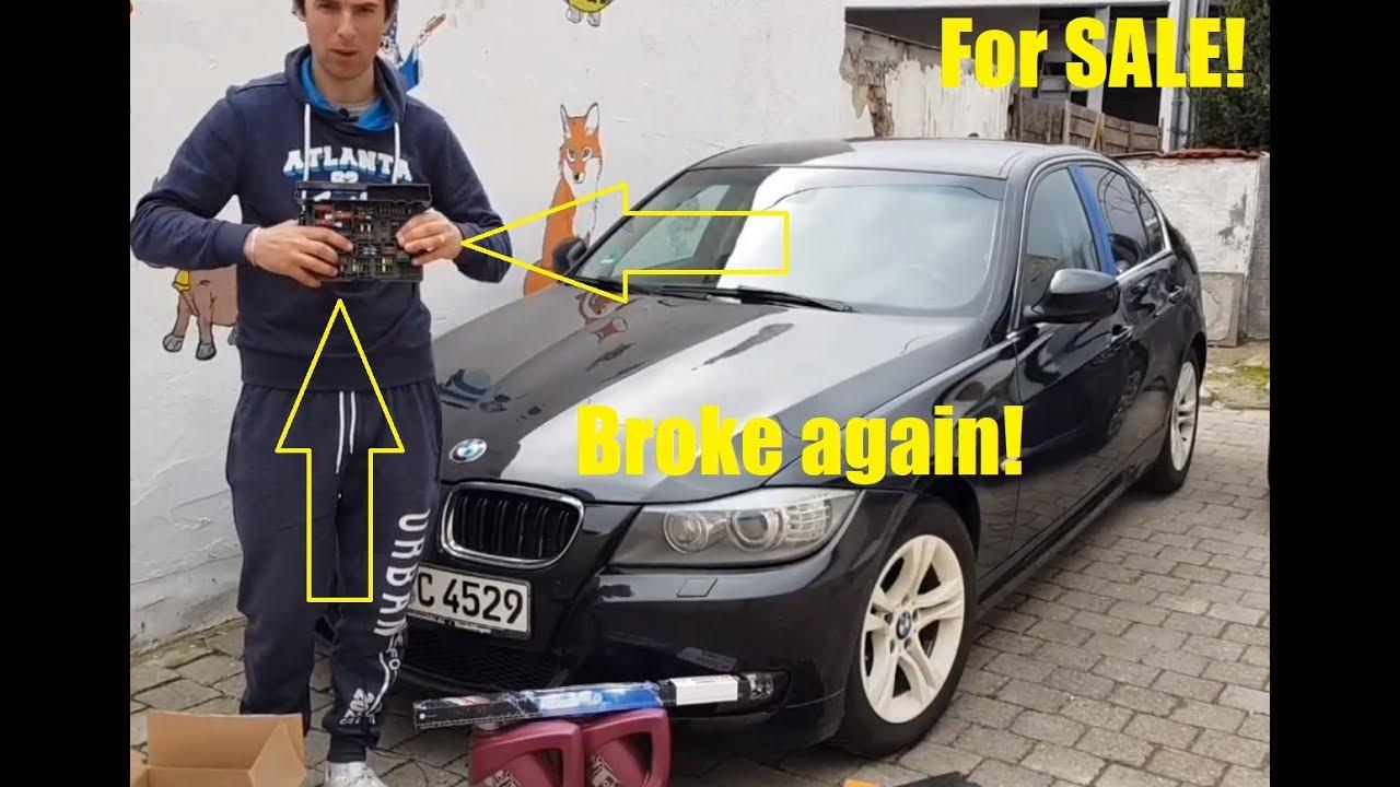 BMW E90 fuse box changed - YouTube
