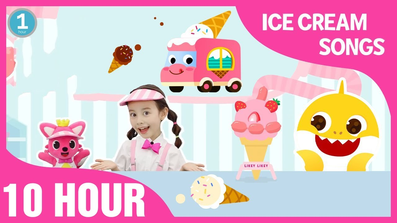 Likey Likey Ice Cream Song and more | +Compilation | 10 hours Non Stop Dance - Songs for Children