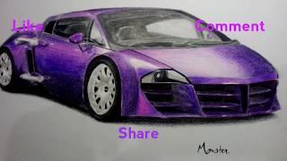 Tarzan the wonder car Drawing | DC | Carsketch Monster