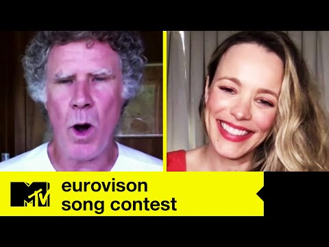 EUROVISION SONG CONTEST Stars Will Ferrell & Rachel McAdams On Lip Syncing Volcano Man | MTV Movies