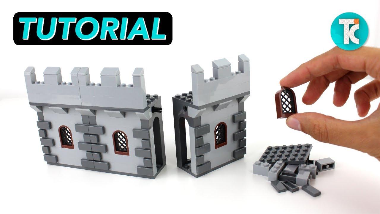 LEGO Castle Wall (Tutorial)