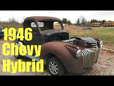 10d899a5f Američan prerobil Chevrolet pick-up z 1946 na elektrinu, zničil pritom  Prius - Autoviny.sk