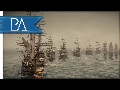 Masters of the Sea: Frigate Battle - Darth Mod - Napoleon Total War Gameplay
