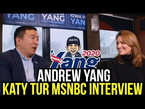 Andrew Yang's Full Interview with MSNBC's Katy Tur