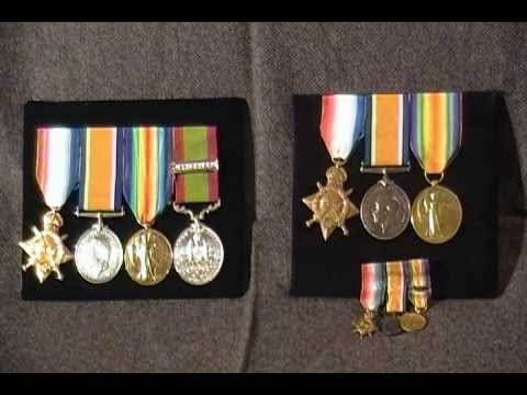 WW1 British Military Medal collection 1914 1915 star victory medals fire Long Service