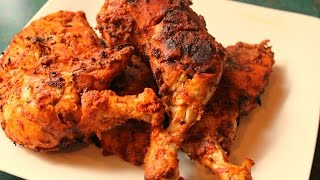 Tandoori Chicken -chicken Grilled On Gas Stove