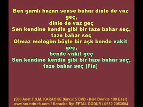 500 - T.S.M KARAOKE - Ben Gamli Hazan - Hicaz