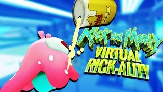 Little Drunk Alien! - Rick and Morty: Virtual Rick-ality Gameplay - VR HTC Vive Pro