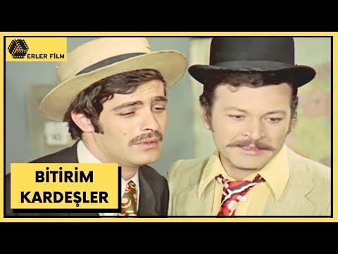 Bitirim Kardeşler | Kadir İnanır, Kartal Tibet | Türk Filmi | Full HD
