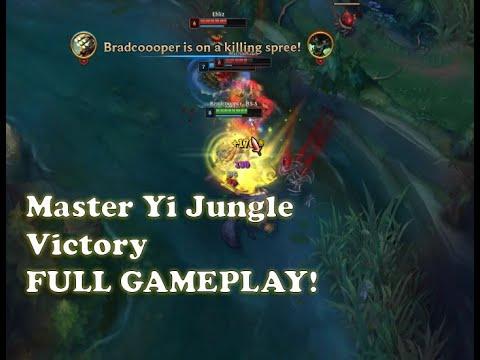 League of Legends | Full Gameplay - Chosen Master Yi Skin!!
