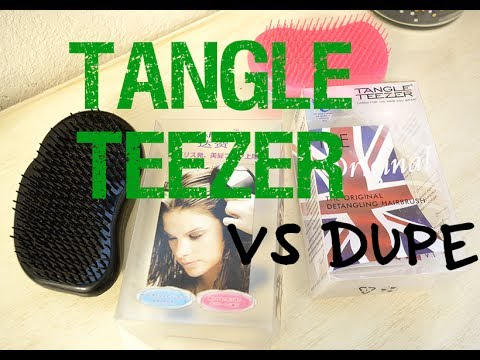Tangle Teezer VS. $1.80 Dupe!! Are They The Same?