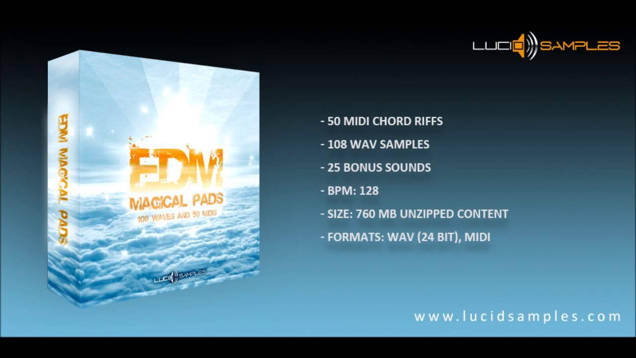 EDM Magical Pads - Wav & Midi Samples Preview