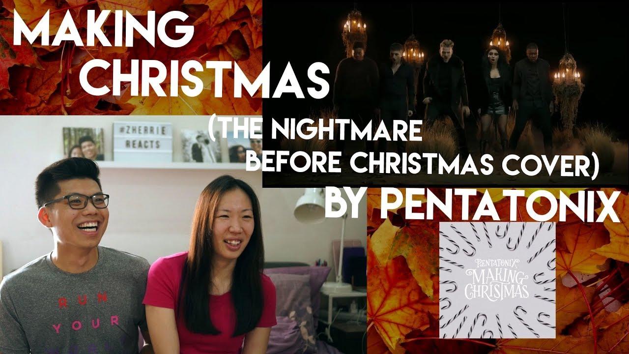 Pentatonix Making Christmas.Making Christmas By Pentatonix Reaction Video