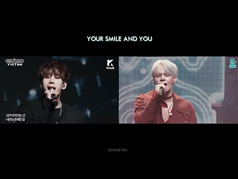 How VICTON Singing Seungwoo's Parts In Old Songs / 빅톤 한승우 파트