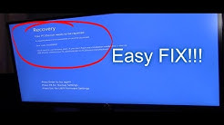 3 EASY WAYS TO FIX BOOT UP ERROR WINDOWS 7 8 10 BLUE SCREEN OF DEATH (BSoD)