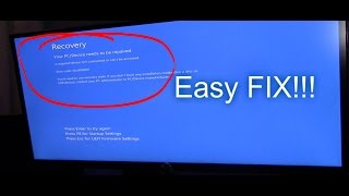 How to fix Your pc couldn't start properly windows 10 error code 0xc00000e1