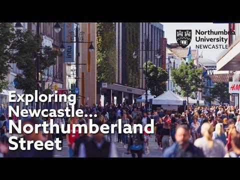 Exploring Newcastle... Northumberland Street   Tour of Newcastle