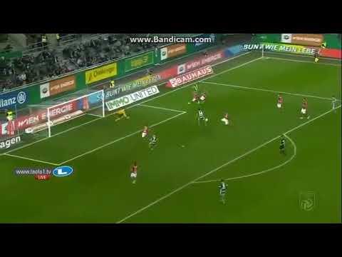Louis Schaub skills Assist, Joelinton Tor/Goal 14/10/2017