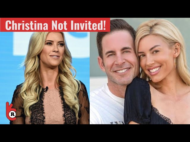 Tarek El Moussa & Heather Rae Young are not INVITING Christina Anstead in their wedding