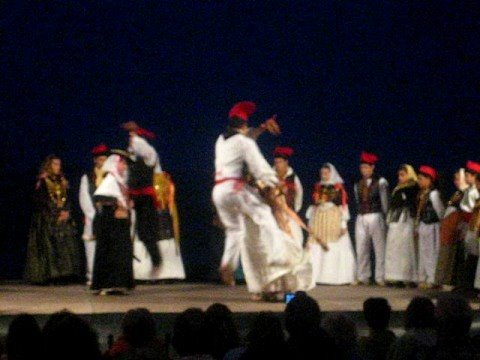 Tipical dance Ibiza island insel ille