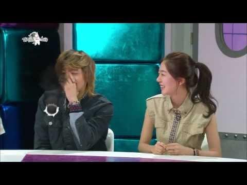 HOT 라디오스타 - 이홍기, 백진희 자연스러운 스킨십 20130522