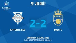Entente SSG vs Pau full match