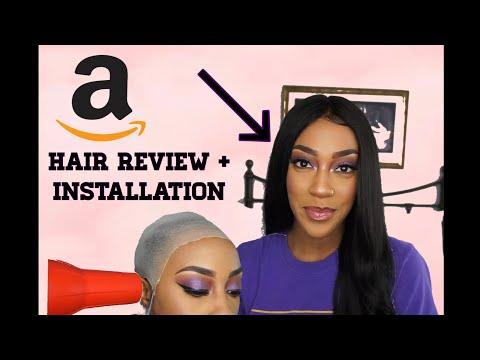 Amazon Frontal + Bundles Hair Review | YELLOOBERRY