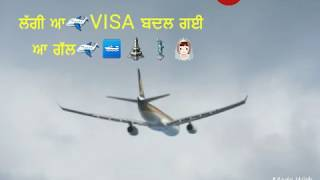 Punjabi Song, WhatsApp Status Video, sharry maan, visa,