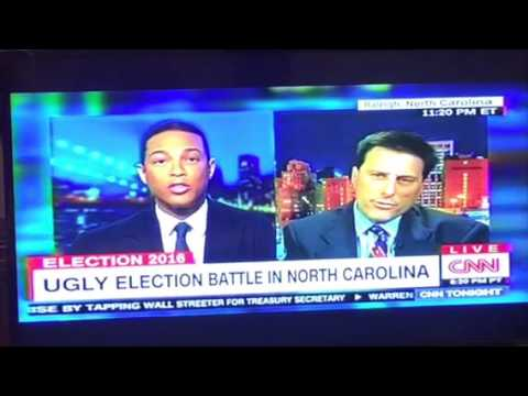 Don Lemon Of CNN Makes Dallas Woodhouse Of North Carolina GOP Look Like A Racist Bozo
