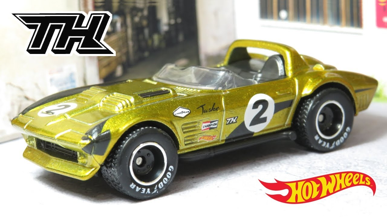 Hot Wheels Corvette Grand Sport Roadster - Super Treasure Hunt! (2019)