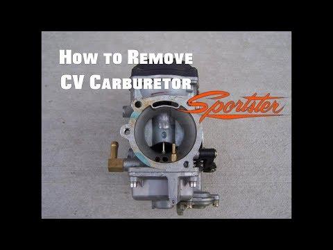 How to remove CV carburetor