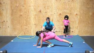 Teaching Kids Cartwheels