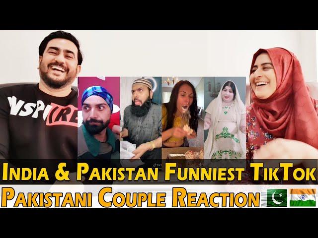 India & Pakistan Funniest TikTok, Not To Be Missed! | Pakistani Couple Reaction