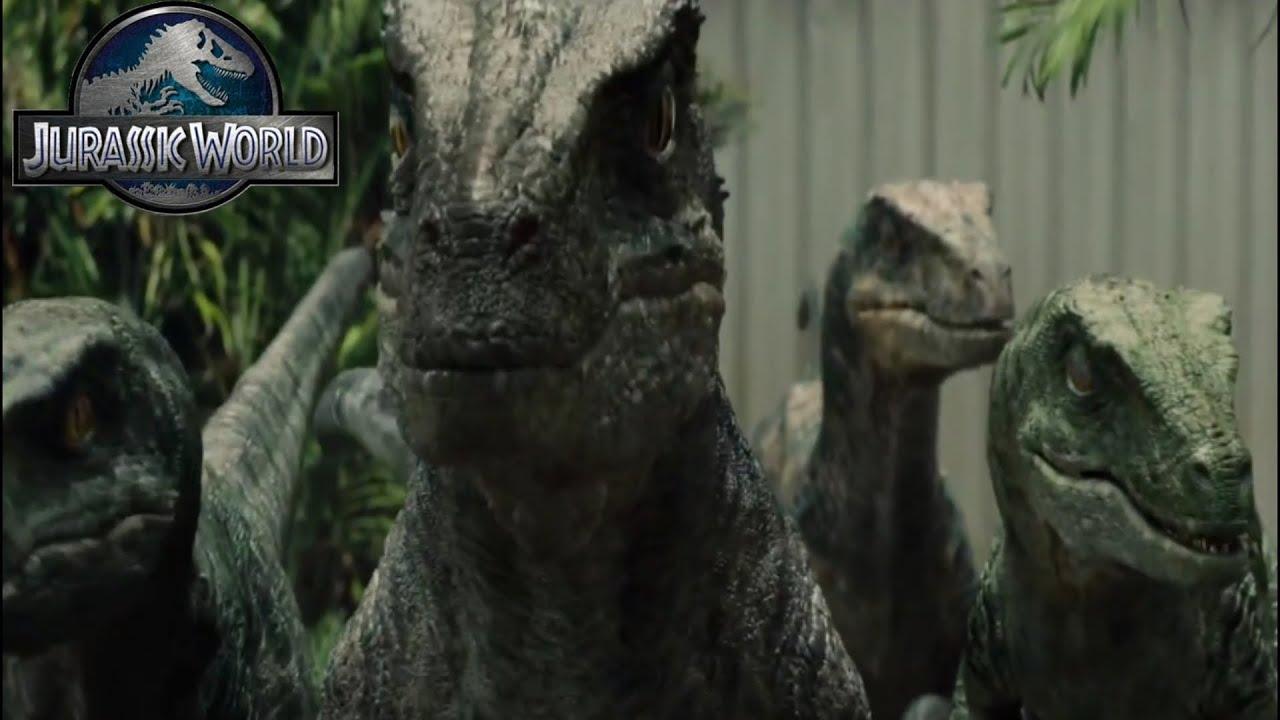 Jurassic World Best Raptor Moments