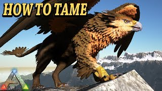 ARK GRIFFIN HOW TO TAME, ATTACKS, BREEDING & MORE!! Ark Survival Evolved Griffin Ragnarok DLC