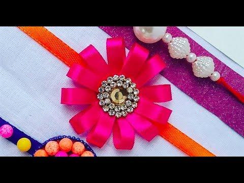 How To Make Rakhi 03 Rakhi Making Ideas L How To Make Rakhi