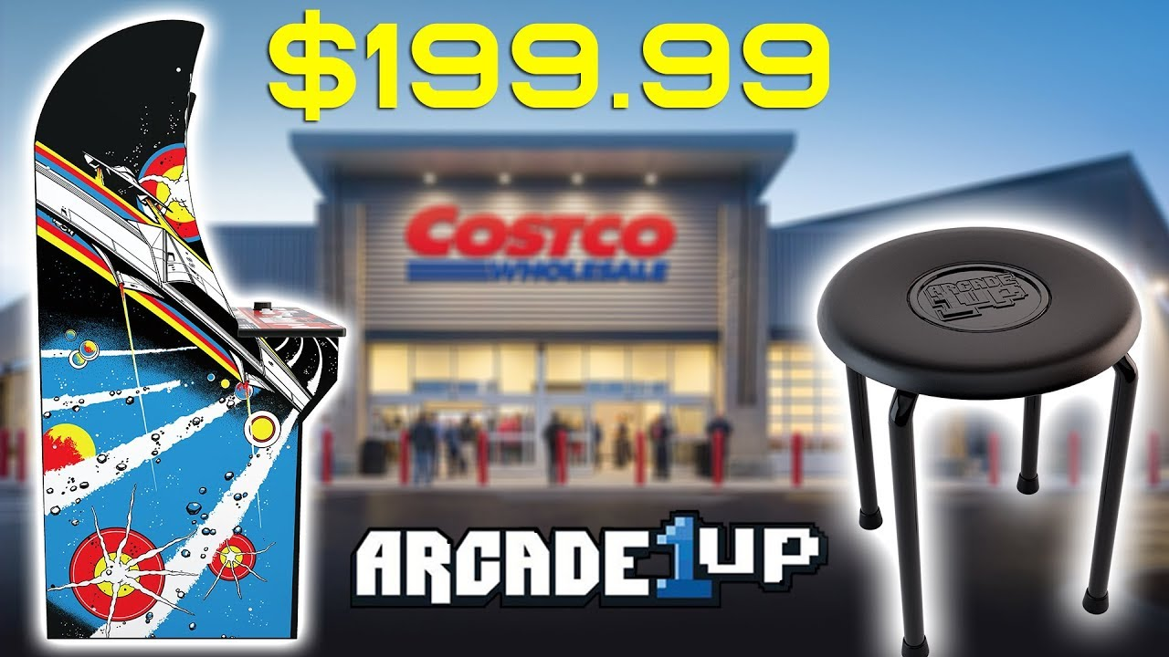 ARCADE1UP COSTCO Asteroids Deluxe 6 in 1 Plus ARCADE 1UP CLEARANCE