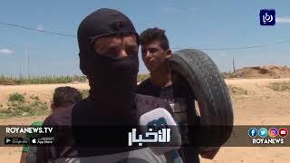 الاحتلال يقمع مسيرة العودة ووقوع اصابات بين المتظاهرين - (29-6-2018)