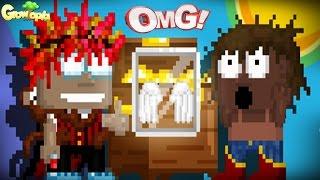 Growtopia - ANGEL WINGS KUTUMDA NE VAR ?(CHEST GAME)