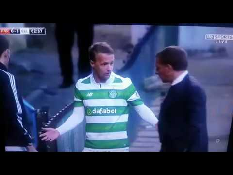 Griffiths argues with Rodgers