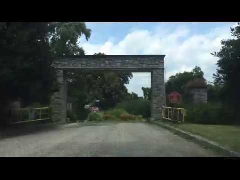 Drive Through Bryan Park and Lakeside Area of Richmond, VA
