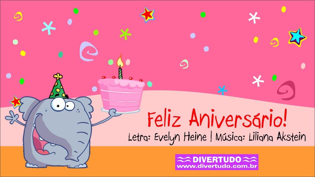 Feliz Aniversário Youtube: Feliz Aniversário Divertudo