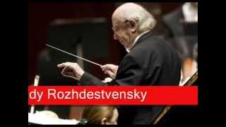 Gennady Rozhdestvensky: Cherubini - La prisonnière, 'Overture'(, 2012-09-14T13:36:41.000Z)