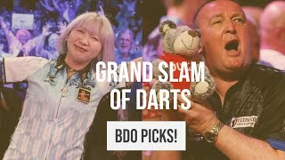 BDO REVEAL Grand Slam of Darts Picks! Durrant in! | No Leighton Bennett!?
