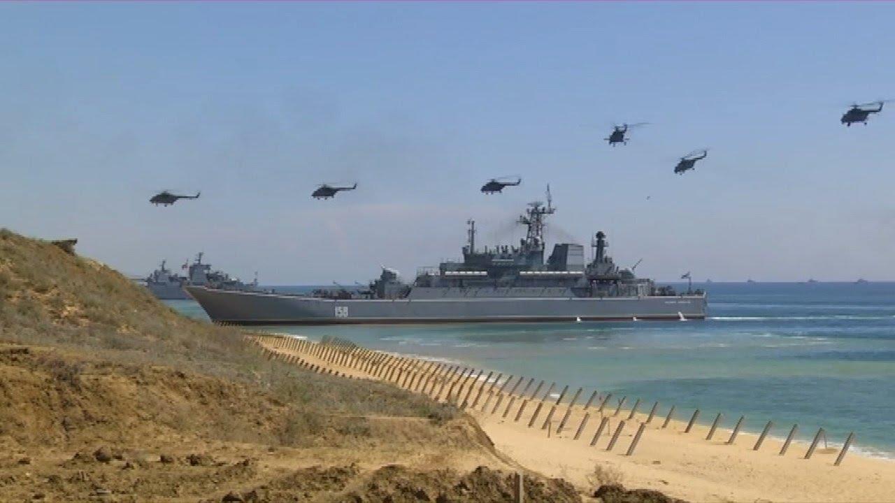 Завершающий этап стратегического командно-штабного учения «Кавказ-2016»