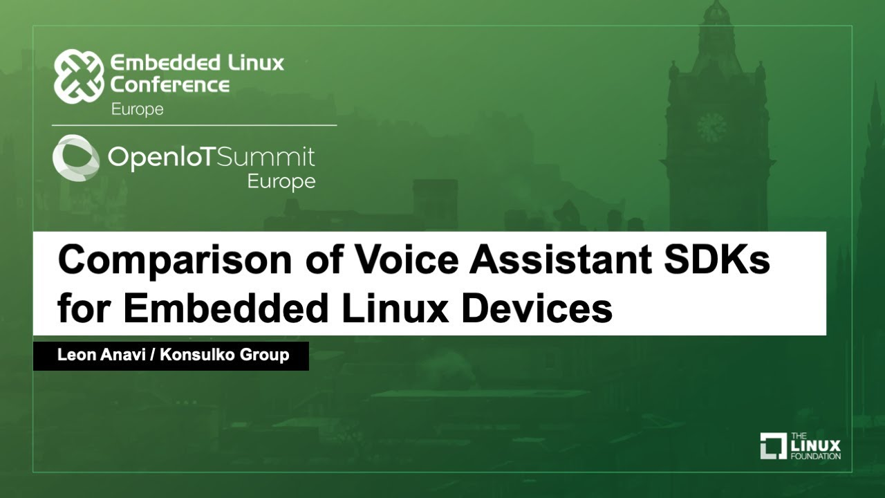 A Closer Look at Voice-Assisted Speakers - Linux com