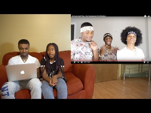 My Girlfriends LITTLE SISTER ROAST Ar'mon And Trey - For Everybody ft Lil Perfect REACTION!👀