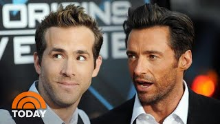 Ryan Reynolds Talks About 'Rivalry' With Hugh Jackman   TODAY