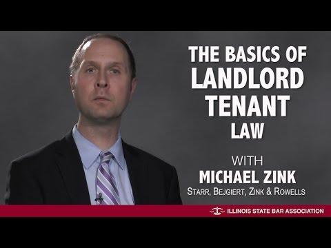 The Basics on Landlord Tenant Law