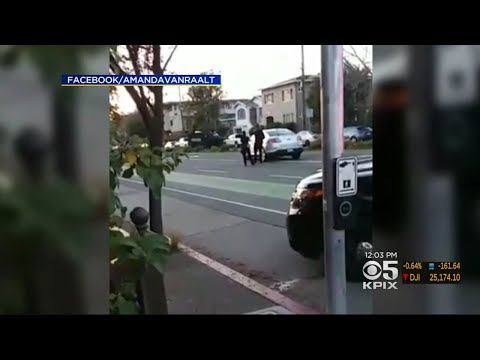Cell Phone Video Captures Moment Of Fatal Officer-Involved Shooting In Oakland